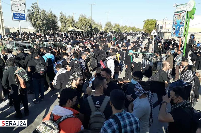 ویدئو/جاماندگان زوارحسینی در استان ایلام