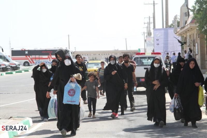 گزارش تصویری از حال و هوای مرز مهران دو روز پس از اربعین حسینی