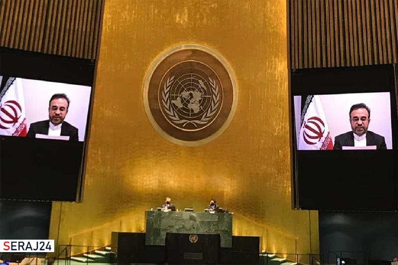 پاسخ نماینده ایران به اظهارات سخیف نماینده رژیم صهیونیستی در شورای حقوق بشر