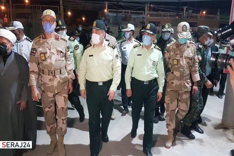 بازدید سرزده فرمانده ناجا از مرز مهران / سردار اشتری: برای بازگشت زائران اربعین آمادگی کامل را داریم