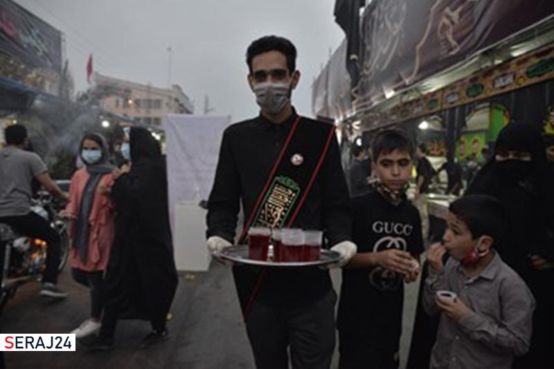 ویدیو/ موکب جاماندگان پیاده روی اربعین در گلستان