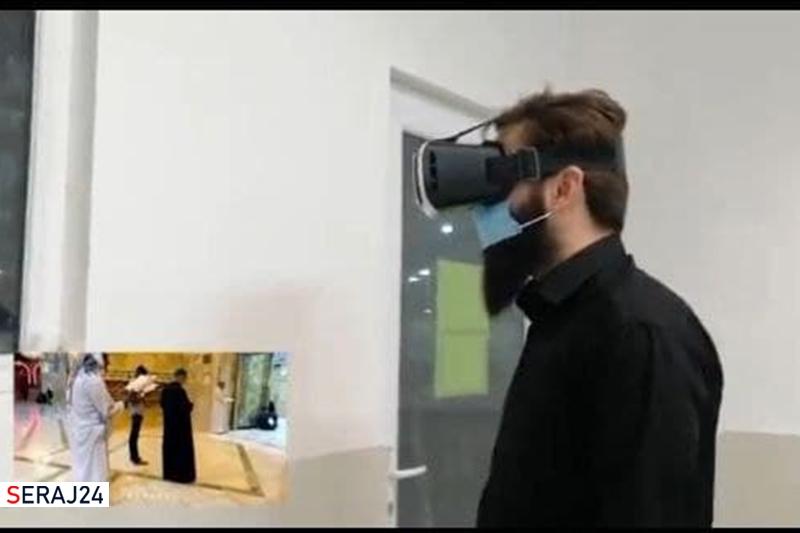 ویدئو/ سه بعدی سازی زیارت حرم سید الشهدا