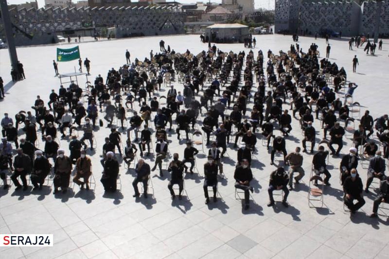 تجمع سوگواران پیامبر رحمت و  امام مجتبی در تهران +عکس