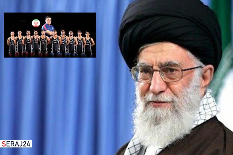 تشکر رهبر انقلاب از تیم ملی کشتی فرنگی ایران