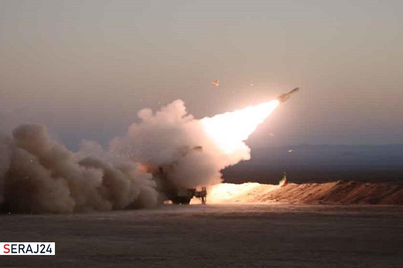 رزمایش مدافعان آسمان ولایت ۱۴۰۰ / شلیک سامانههای «جوشن و خاتم» پدافند هوایی ارتش