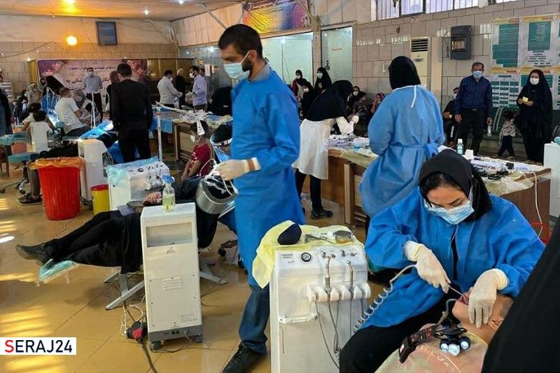 خدمات رایگان جهادگران دندانپزشک به زندانیان