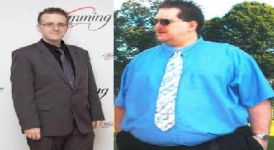 رکورد دار کاهش وزن / دین وورال خودش را نصف کرد