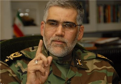امیر پوردستان: انگشت روی ماشه در برابر هر تهدیدی ایستادهایم