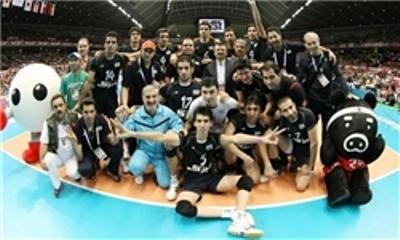 عکس گروهی تیم ملی والیبال