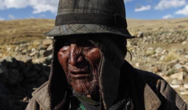 پیرترین فرد جهان در بولیوی زندگی میکند+عکس