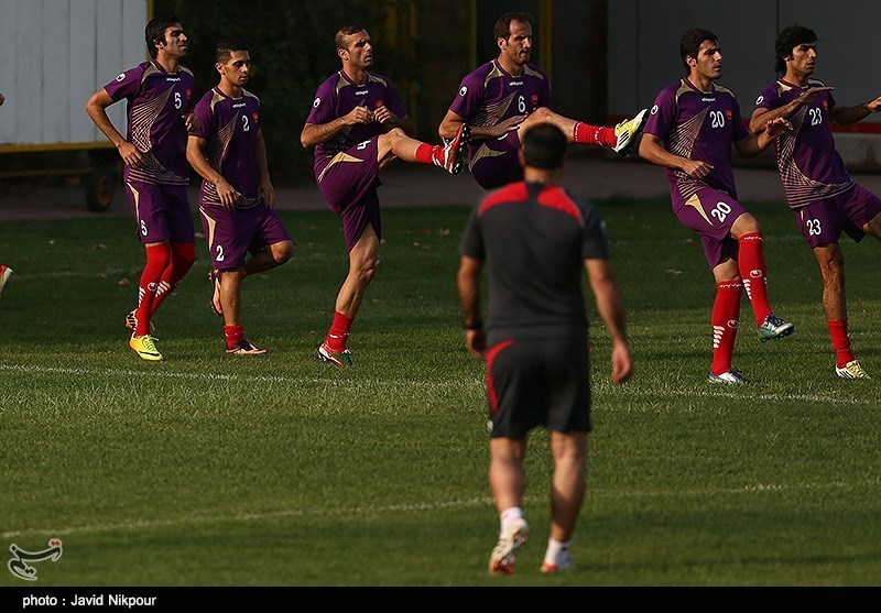 عکس فوتبال پرسپولیس تهران