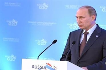 معرفی پوتین برای نامزدی جایزه صلح نوبل
