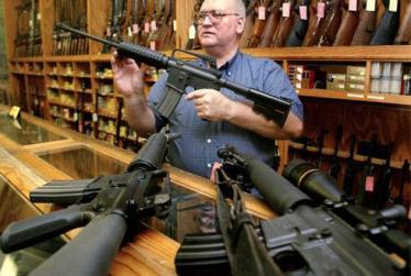 مسلح شدن کارکنان یک مدرسه در آمریکا