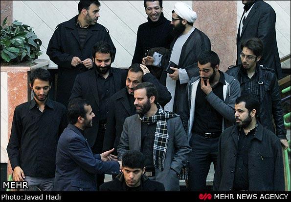 حکم مهران قربانی عکس/ حاج قربون و حدادیان در سینما