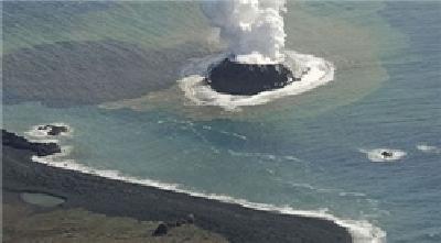 جزیره اسرارآمیز در ساحل ژاپن+عکس