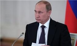 پوتین: اعتراضات در اوکراین تلاش برای تضعیف مشروعیت دولت است