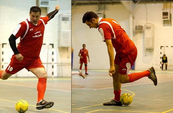 علی دایی و فردوسیپور هم بازی شدند/گزارش تصویری