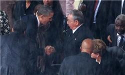 احوال پرسی بیسابقه اوباما و فیدل کاسترو+عکس