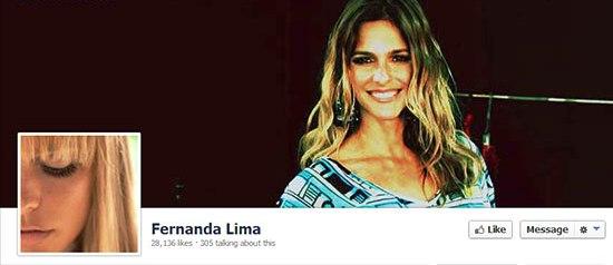 کار کاربران با مجری برزیلی بالاگرفت/فرناندا لیما صفحه فیس بوکش را مسدود کرد!