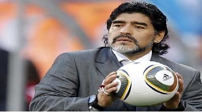 مارادونا: خبر پول گرفتنم برای رونمایی از لباس تیم ملی ایران کذب است