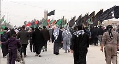 برگزاری مسابقه «رد پای امام(ره)» در راهپیمایی اربعین حسینی