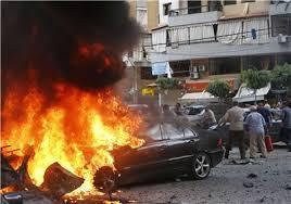 انفجار خودروی بمب گذاری شده در نزدیکی مقر حزب الله