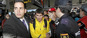 """لیونل مسی"" به تمرینات بارسلونا بازگشت"