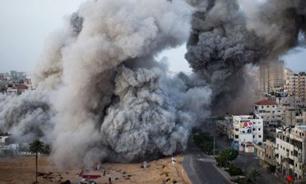 ارتش رژیم صهیونیستی دو بار غزه را بمباران کرد