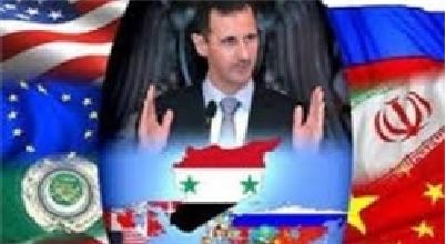 آرایش کشورها و قدرتهای دخیل در سوریه
