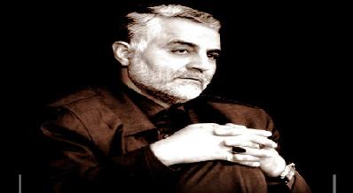 سردار حاج قاسم سلیمانی در کنار پدرش+عکس