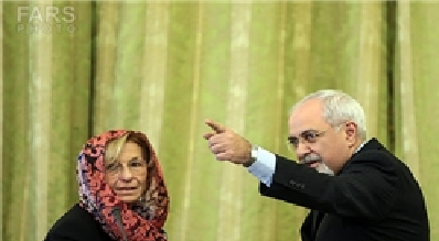 پاسخ قاطع ظریف به اصرار وزیر خارجه ایتالیا برای ورود بدون حجاب به ایران
