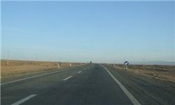 انسداد جاده چالوس / آسمان آبی بر فراز جادهها