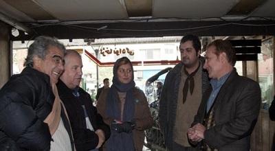 حضور علی پروین در جشنواره فجر