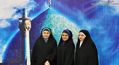 دختران روسی با پوشش چادر +عکس