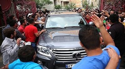 سیرتکامل خودروی فوتبالیستهای ایرانی