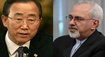 نامه ظریف به دبیر کل سازمان ملل برای آزادی مرزبانها و دیپلمات ایرانی ربودهشده