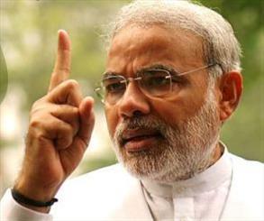 نخست وزیر پاکستان در تحلیف نخست وزیر هند