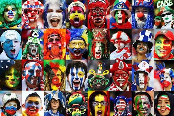 از ساپورتها و شیشه های مشروب با پرچم ایران تا تمرین فوتبال سنجابها+تصاویر