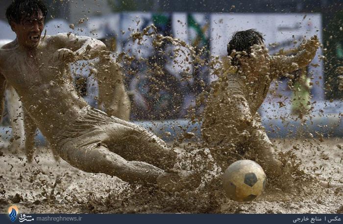 فوتبال کثیف+عکس