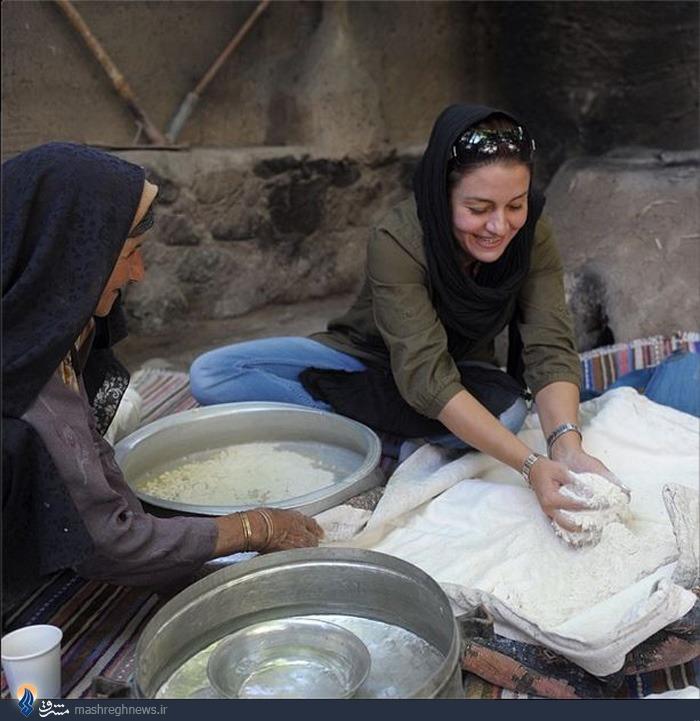 نانوایی سنتی مریلا زارعی+عکس