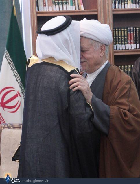 سعودیها بوسه بر هاشمی را پس گرفتند!