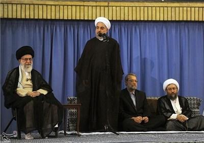 روحانی:صهیونیستها و مدعیان خلافت هر دو غده چرکین هستند