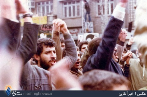مایلیکهن در راهپیمایی ضد پهلوی+عکس
