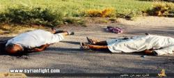 کشتار وحشیانه توسط داعش(+18)+تصاویر