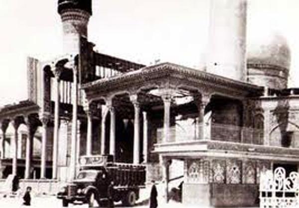 حرم حضرت عباس(ع)در یک قرن پیش+عکس