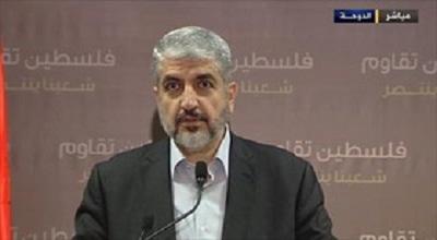 خالد مشعل: بیش از هر زمانی به آزادی فلسطین نزدیک شدهایم/ سیاست بدون مقاومت بیمعناست
