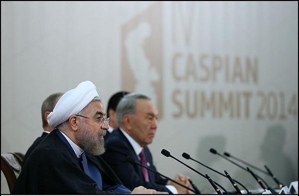 روحانی بر تعامل کشورهای ساحلی دریای خرز تاکید کرد