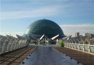 افتتاح آسمان نمای خاورمیانه با حضور شهردار