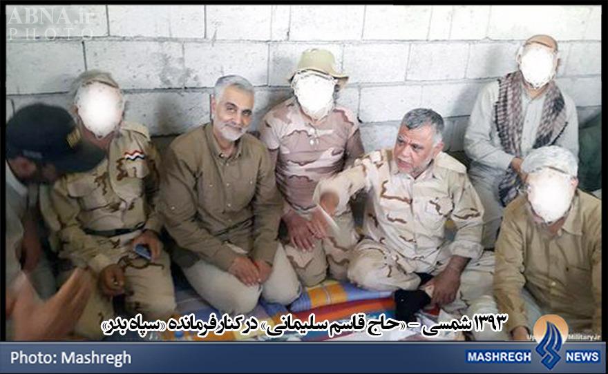 حاج قاسم در کنار سردار سپاه عراق+عکس