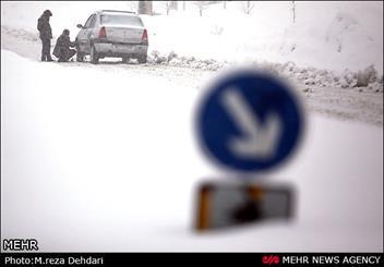 امداد رسانی به محاصره شدگان در برف و کولاک